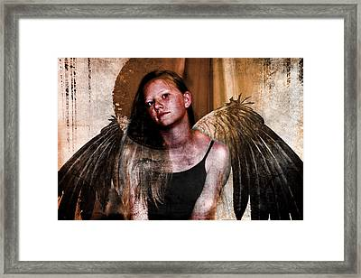Angelic Eclipse Framed Print