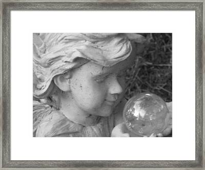 Angelic Gaze Framed Print by Bruce Carpenter