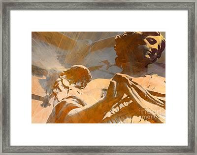 Angelic Guidance 4 Framed Print