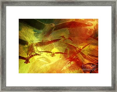 Angelic Guidance  Framed Print