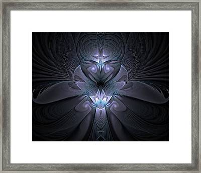 Angelic Light Framed Print by Amanda Moore