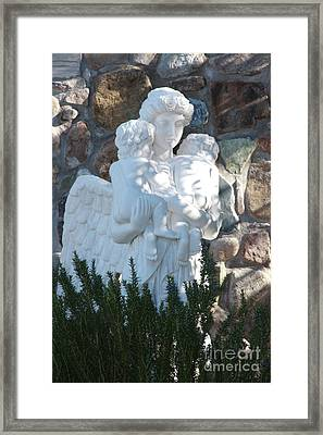 Angelic Motherhood Framed Print
