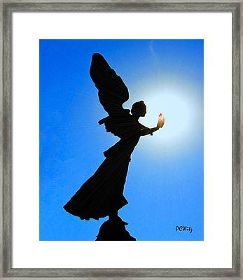 Framed Print featuring the photograph Angelic by Patrick Witz
