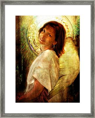 Angelic Repose  Framed Print