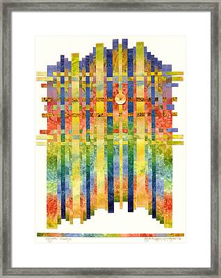 Angelic Visions Framed Print