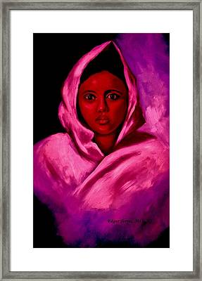Angelica Framed Print