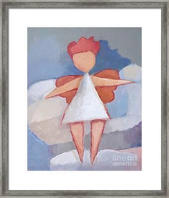 Angelino Framed Print