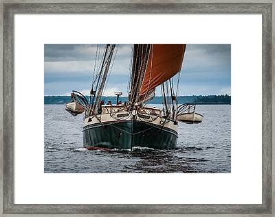 Angelique Bow On Framed Print