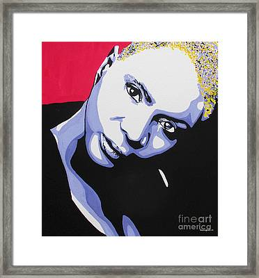 Angelique Kidjo Framed Print