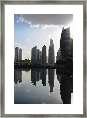 Angelique Framed Print by Rami Khoury