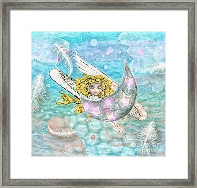 Angelito Framed Print by Mo T