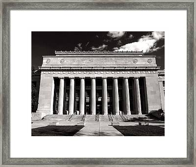 Framed Print featuring the photograph Angell Hall by James Howe