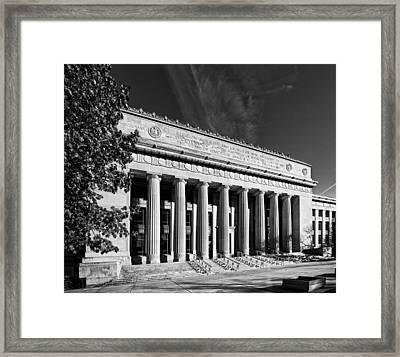 Angell Hall - University Of Michigan Framed Print
