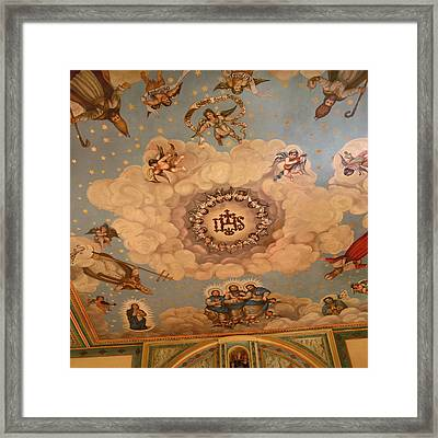 Angels And Saints Framed Print by Art Block Collections