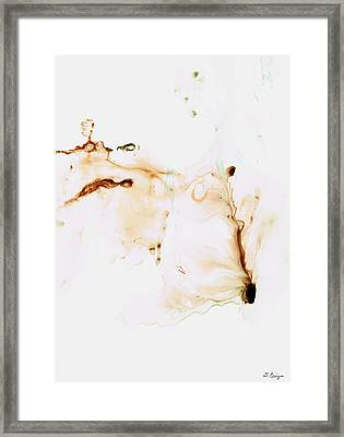 Angel's Breath Spiritual Art Framed Print by Sharon Cummings