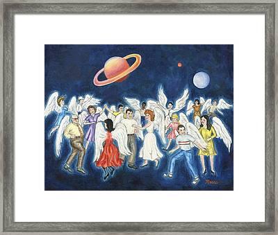 Angels Dancing Framed Print