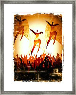 Angels Exposed Framed Print