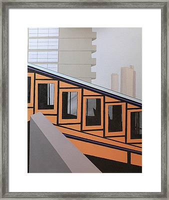 Angel's Flight Framed Print