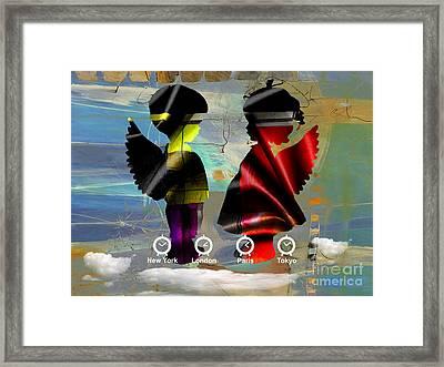 Angels Flight Framed Print by Marvin Blaine