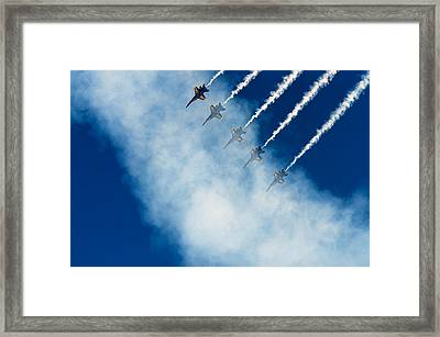 Angels In A Cloud Framed Print by James David Phenicie