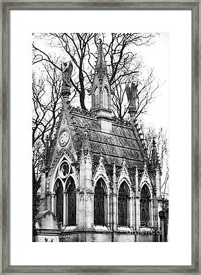 Angels In Montmartre Framed Print by John Rizzuto