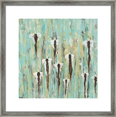 Angels In Our Midst Framed Print by Kirsten Reed