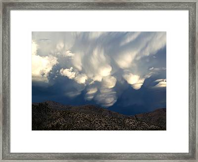 Angels Inbound 5 Framed Print