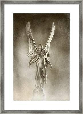 Angel's Kiss Framed Print