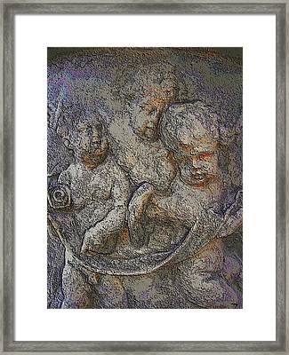 Angels Long To See Framed Print by Glenn McCarthy Art and Photography