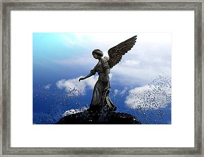 Angel's Love Framed Print