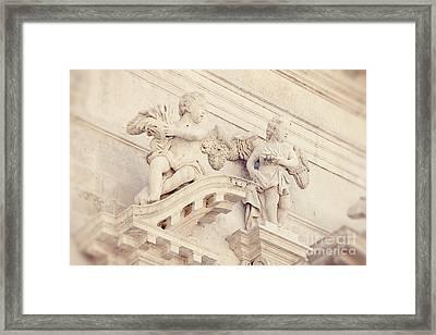 Angels Of St Blaise Framed Print by Erin Johnson