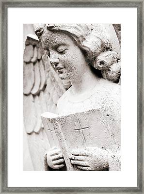 Angels Prayers And Miracles Framed Print