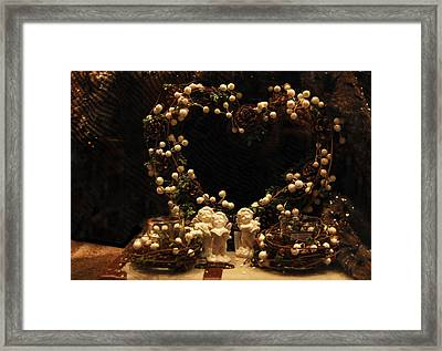 Angels Singing  Framed Print