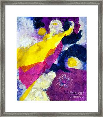 Angels Surround Me Framed Print by Kathy Braud