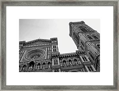 Angels Tower Framed Print