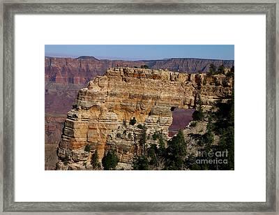 Angel's Window At Cape Royal Grand Canyon Framed Print