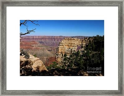 Angel's Window Grand Canyon North Rim  Framed Print