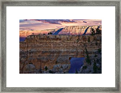 Angels Window Framed Print by Lana Trussell