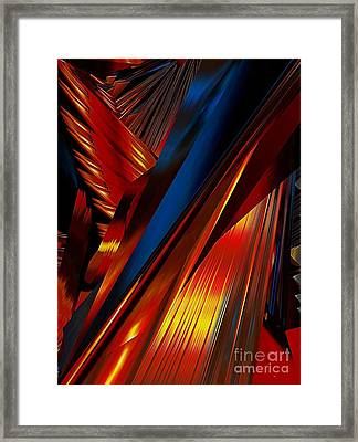 Angels Wing Framed Print by Karen Newell