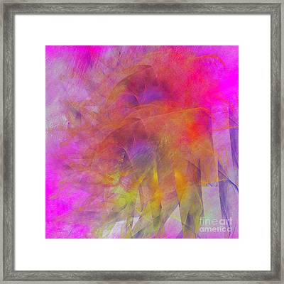 Framed Print featuring the digital art Angels Wings by Alexa Szlavics
