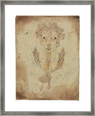 Angelus Novus Framed Print