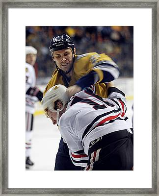Framed Print featuring the photograph Anger Management by Don Olea