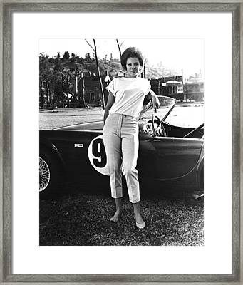 Angie Dickinson In The Killers  Framed Print by Silver Screen