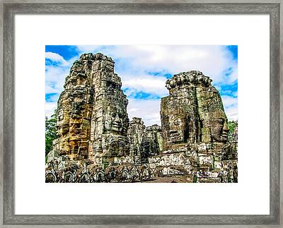 Angkor Framed Print by Aoshivn