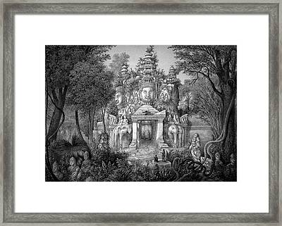 Angkor Temple Framed Print by Cci Archives