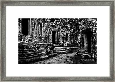 Angkor Thom At Dawn Framed Print by Julian Cook