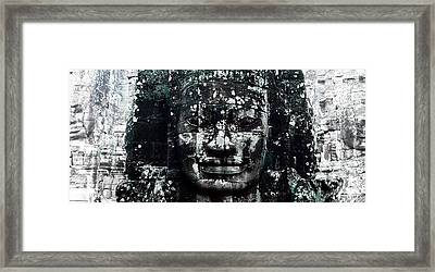 Angkor Thom Framed Print by Julian Cook