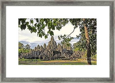 Angkor Wat No. 1 Framed Print by Harold Bonacquist