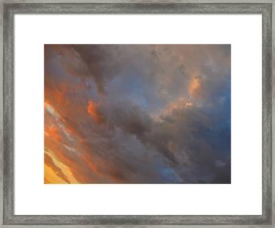 Angle Color Framed Print by Dennis James