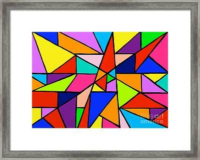 Angle Fun Framed Print by Anita Lewis